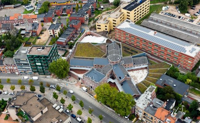 groendak voor Universiteit Hasselt