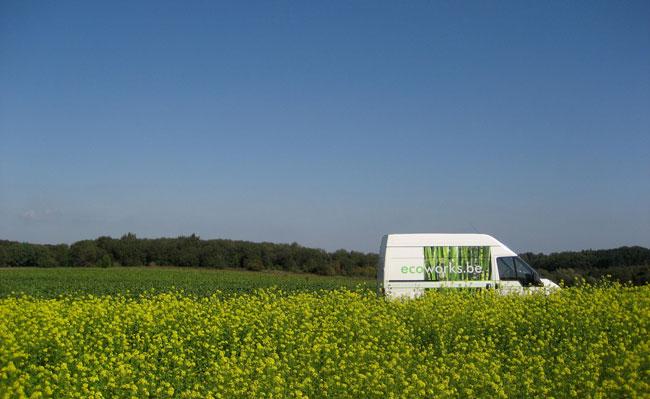 onze eerste ecoworks bestelwagen